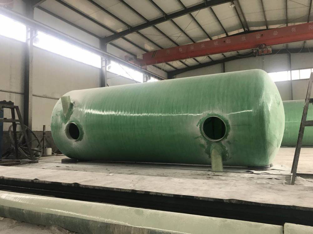 玻璃钢缠绕式化粪池玻璃钢化粪池模压化粪池隔油池