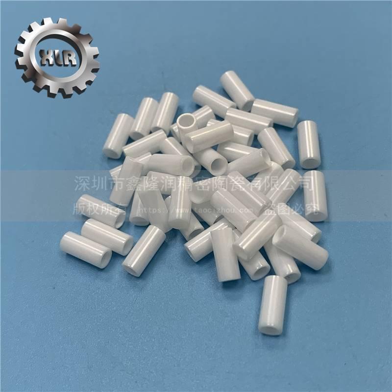 抛光氧化锆陶瓷管 陶瓷环 氧化锆纺织陶瓷管 耐磨 ,耐高温