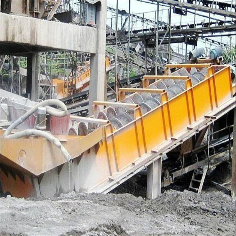大型双螺旋洗砂机 螺旋洗砂机设备 洗石机厂家 洗沙设备