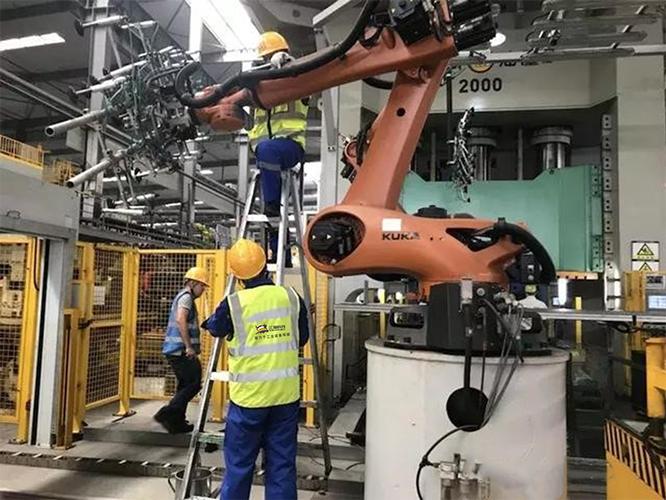 工业机器人(机械手)展示