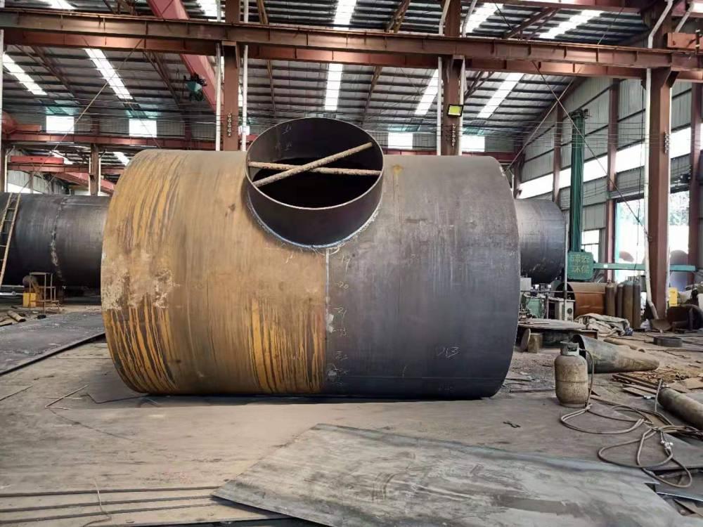 专业生产大口径对焊三通 等径三通 厂家直销