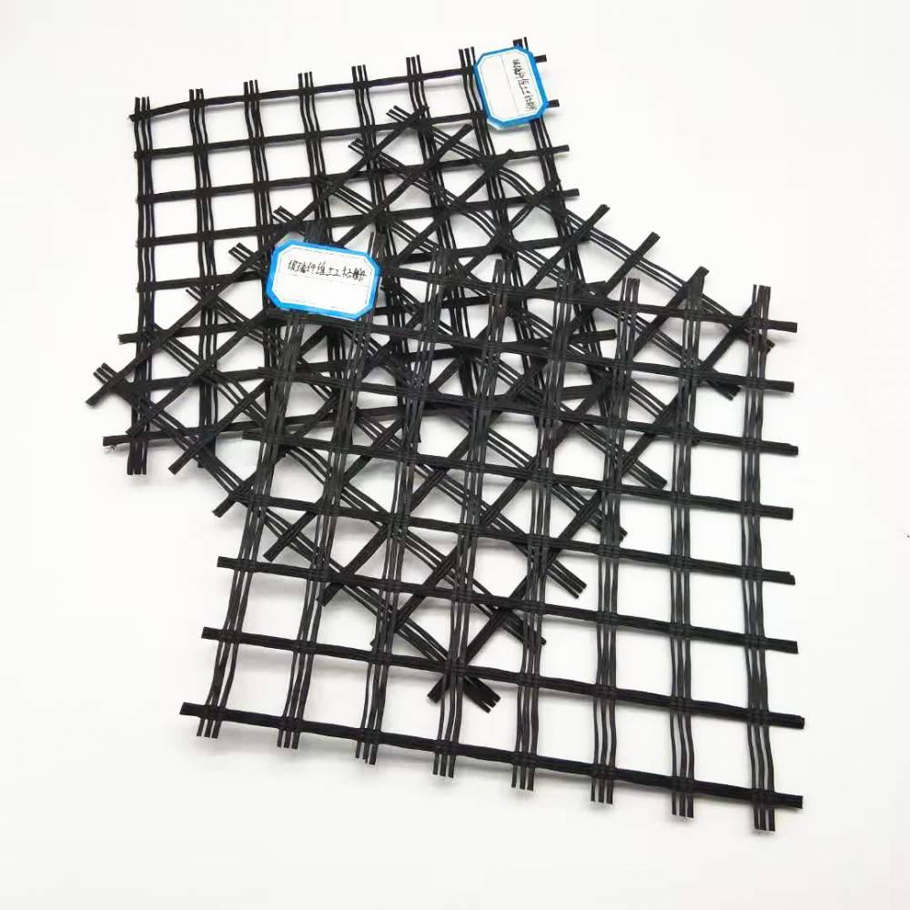 50-50玻璃纤维土工格栅生产视频