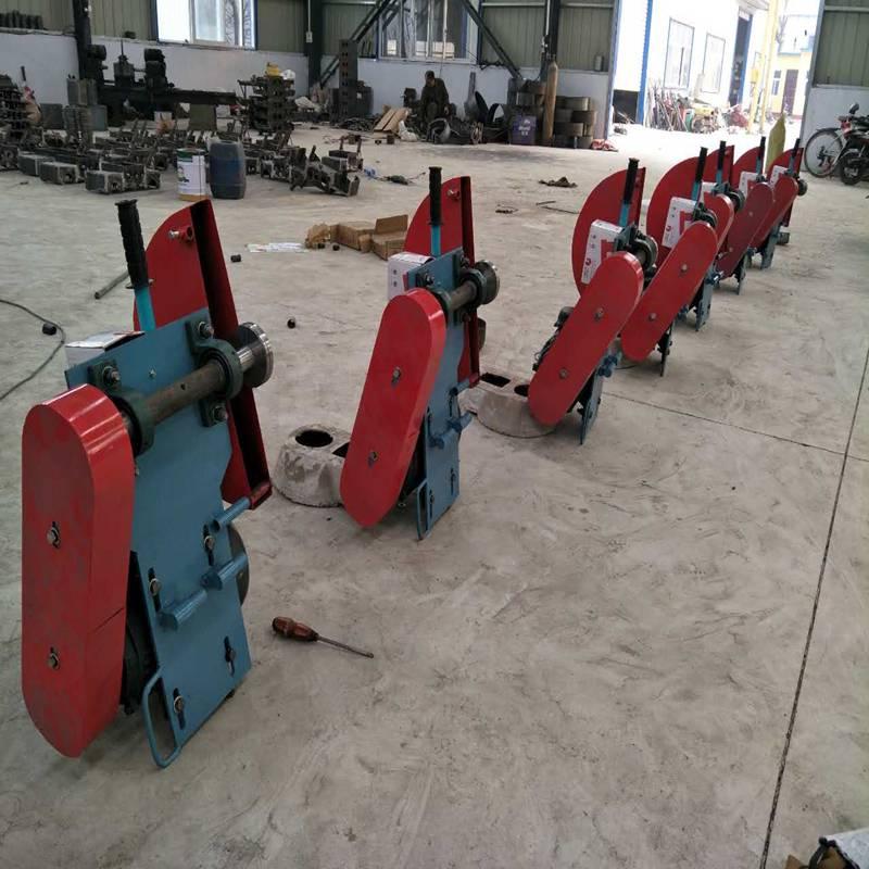 路面实芯桩切割机 空芯桩锯断机 手推切桩机 管桩切割机 环箍式割桩机视频