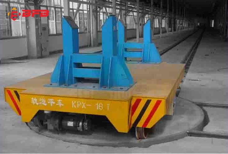 低压轨道电动平车 运输轨道平车配套换轨电动转盘
