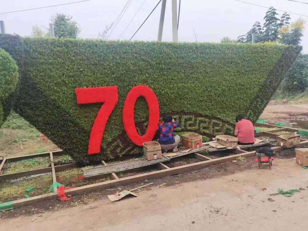 廠家真植物綠雕造型定制中