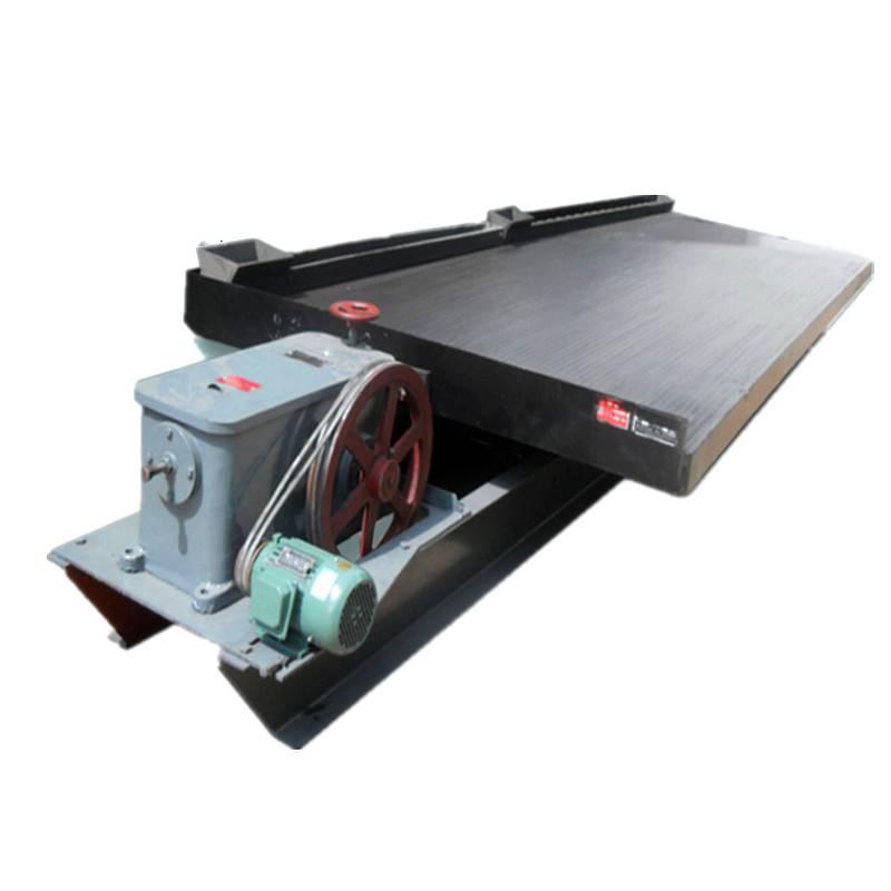 选金摇床设备厂家直销 大、小槽钢支架 水冲式选矿摇床 云锡摇床