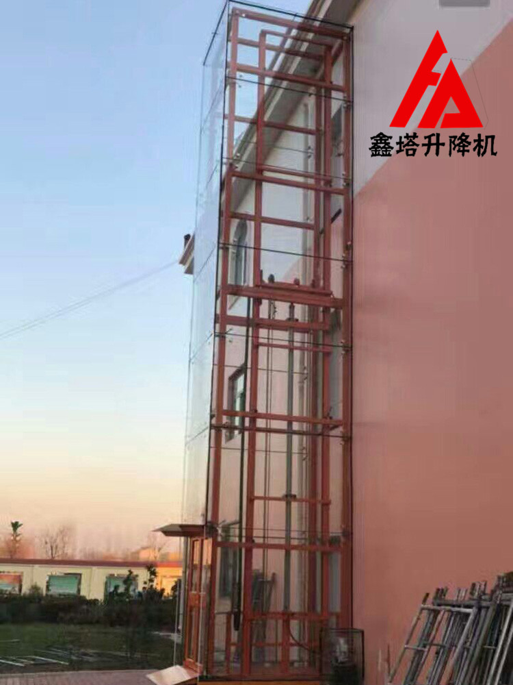 兴安盟导轨式升降机二层3吨液压升降平台全国上门安装图片