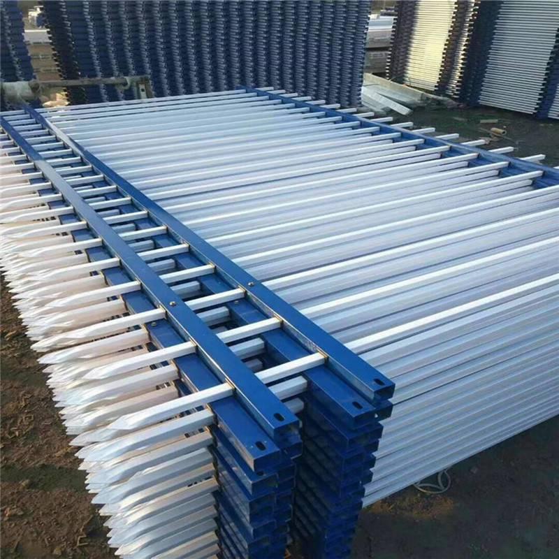 久卓供应 厂区围墙铁护栏 锌钢防腐 工厂围墙栏杆 量大优惠