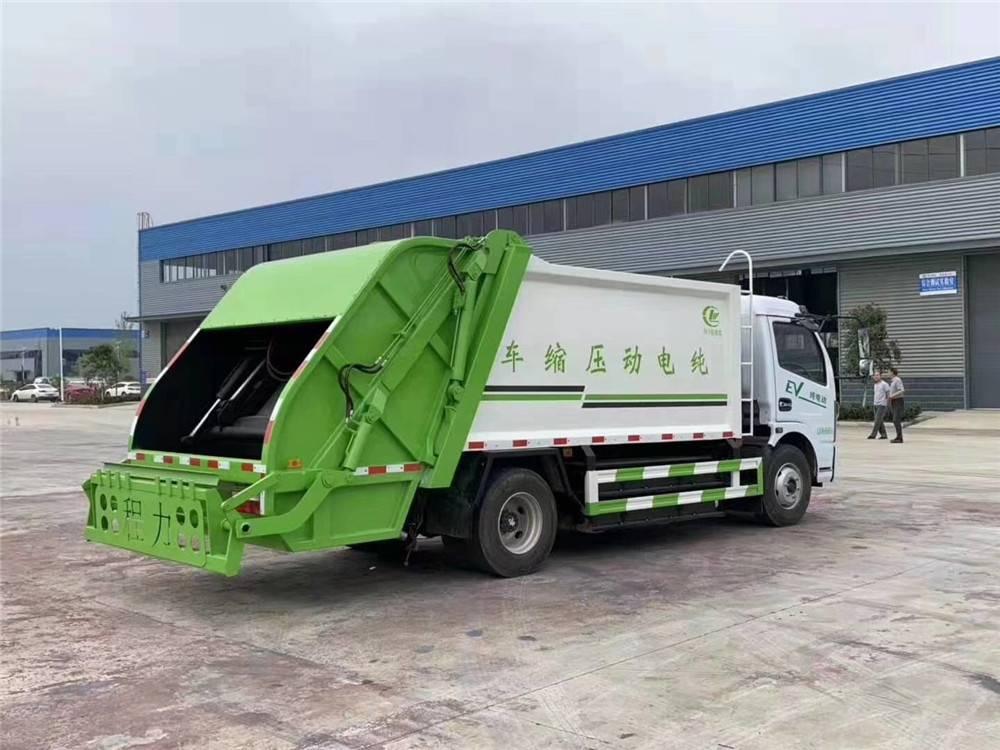 解放压缩垃圾车售后服务部 垃圾压缩车8方生产厂
