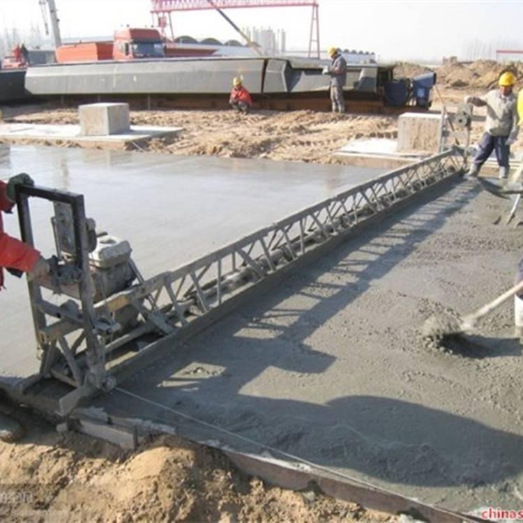 路邦6米框架式整平机 混凝土电动整平机 框架式振动梁生产厂家