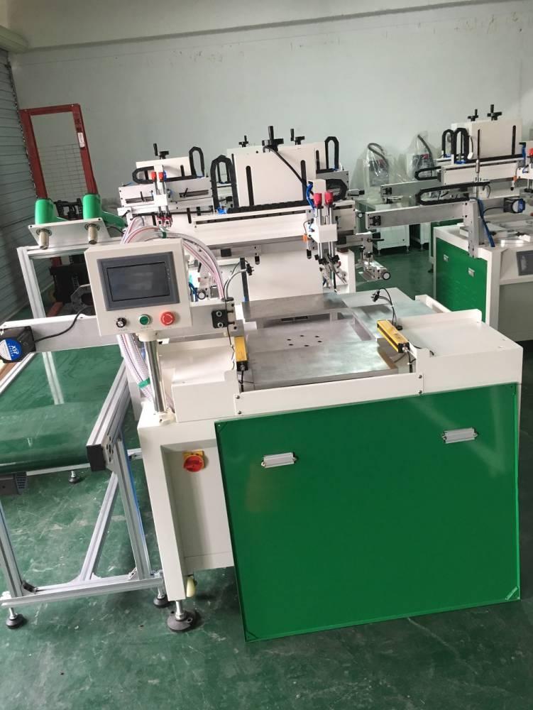 安庆加仑花盆转盘丝印机厂家伺服丝印机