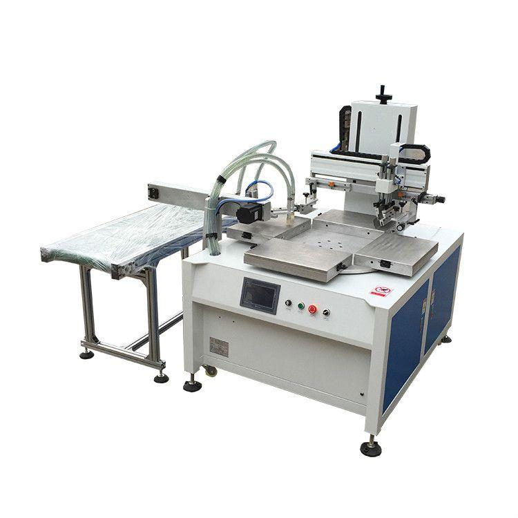 玻璃丝印机东莞优远3045P全自动平面转盘丝印机专业印刷玻璃面板