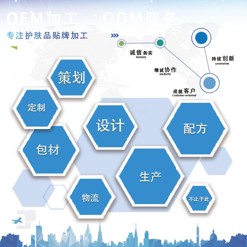 上海高端的大型院線化妝品精華研發代加工