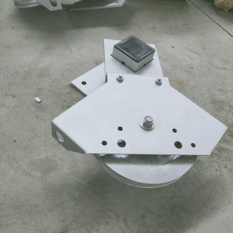 自动化养猪设备 电动刮粪机 不锈钢刮粪机 刮粪机可调转角轮