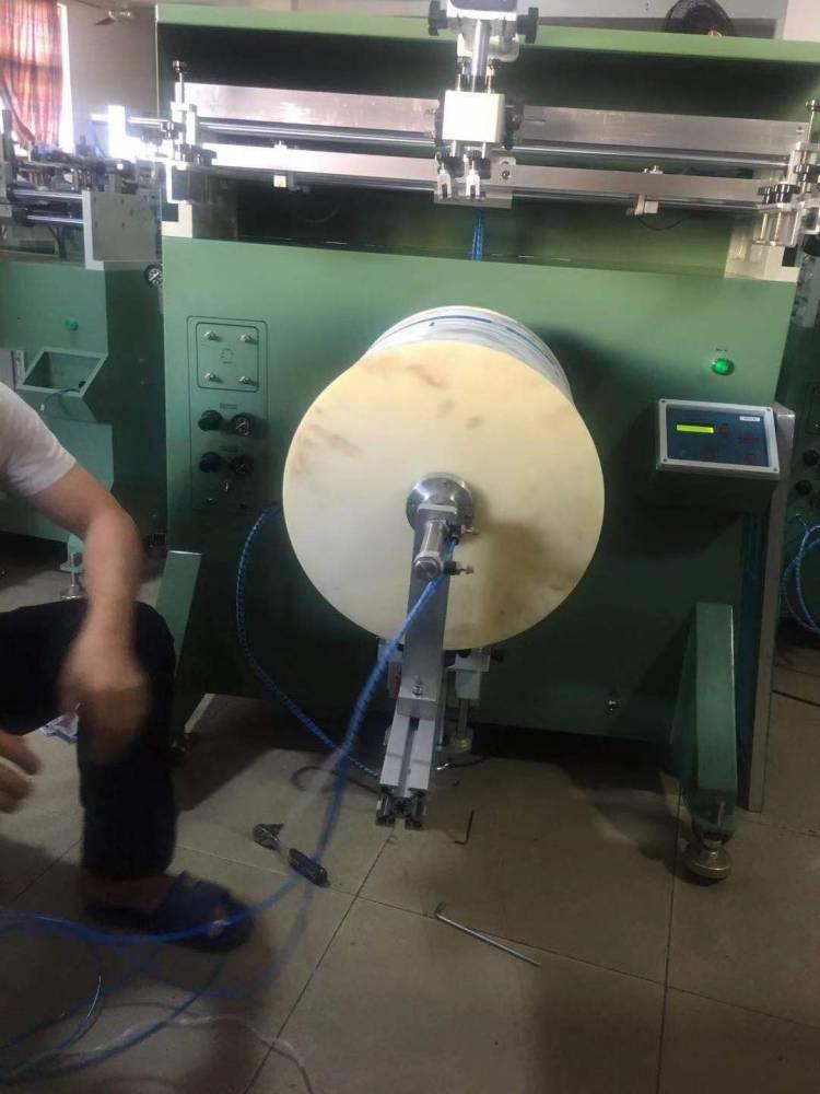 怀化笔杆转盘丝印机厂家伺服丝印机