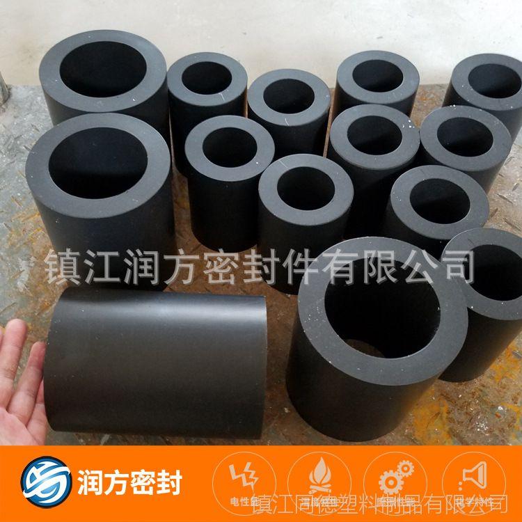 聚四氟乙烯PTFE填充碳纤维耐磨管 圈 环 承接加工定制 模具齐全