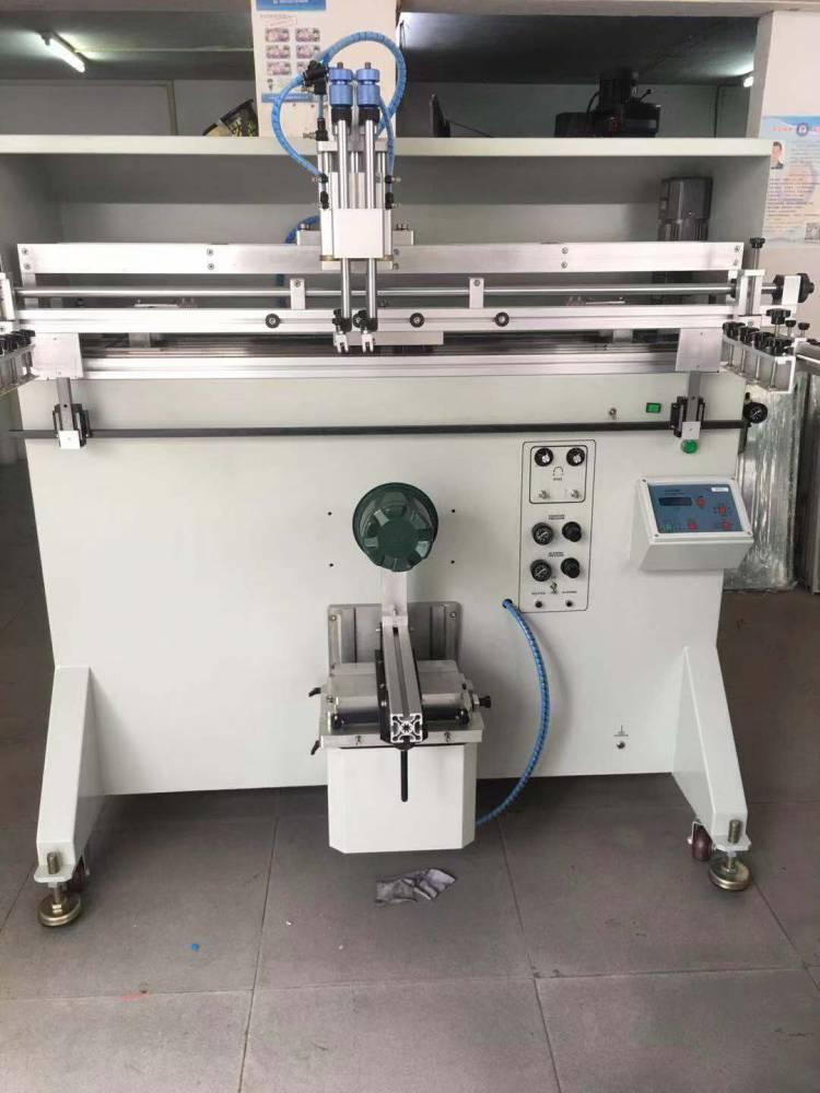 徐州五角花盆转盘丝印机厂家伺服丝印机