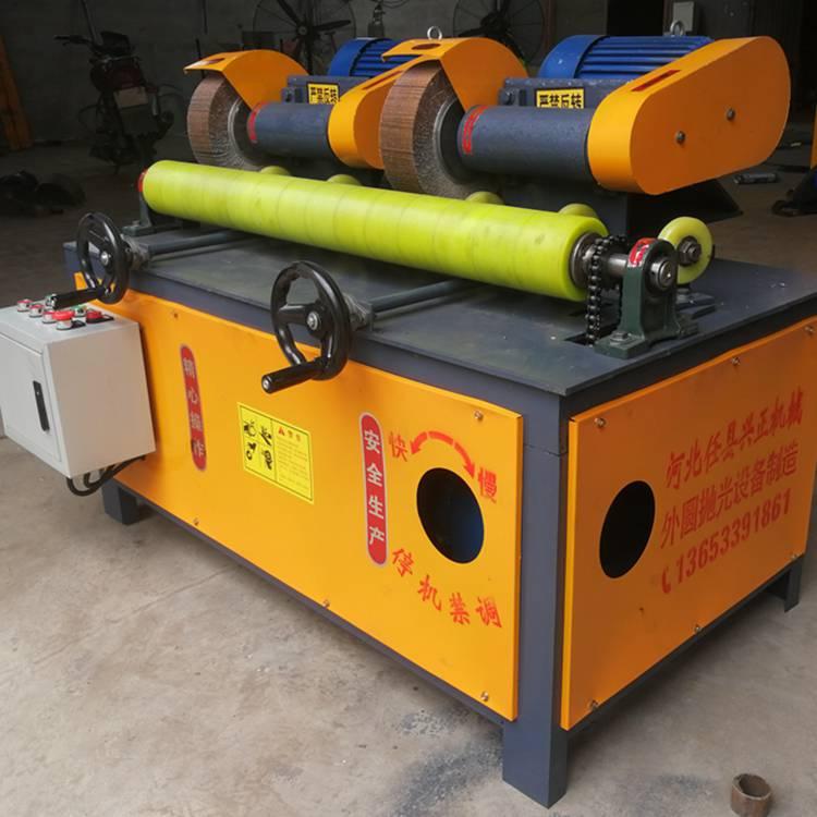 邢台任邦燃气管道除锈机 钢管除锈机厂家直销刷漆一体机