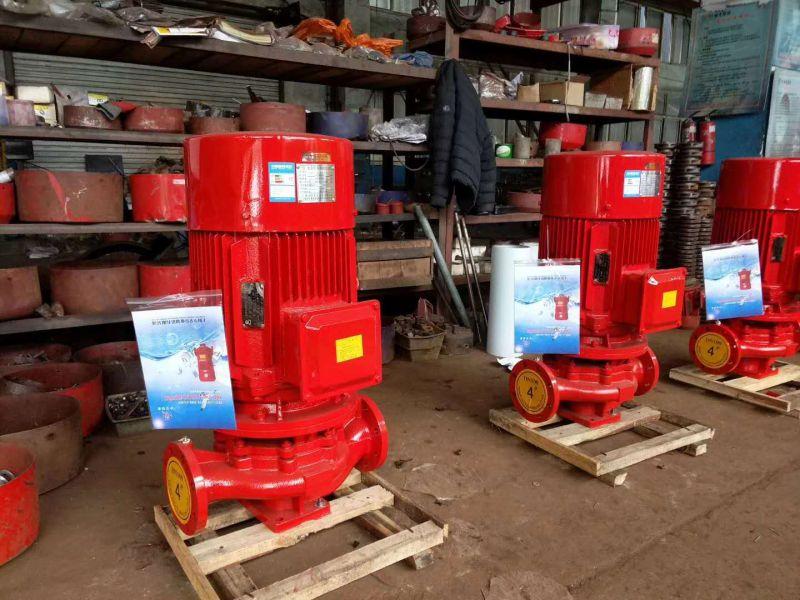 室外消防泵XBD10.5/35G-L75KW不锈钢