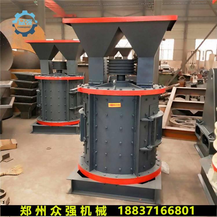 新型立轴式复合制砂机视频
