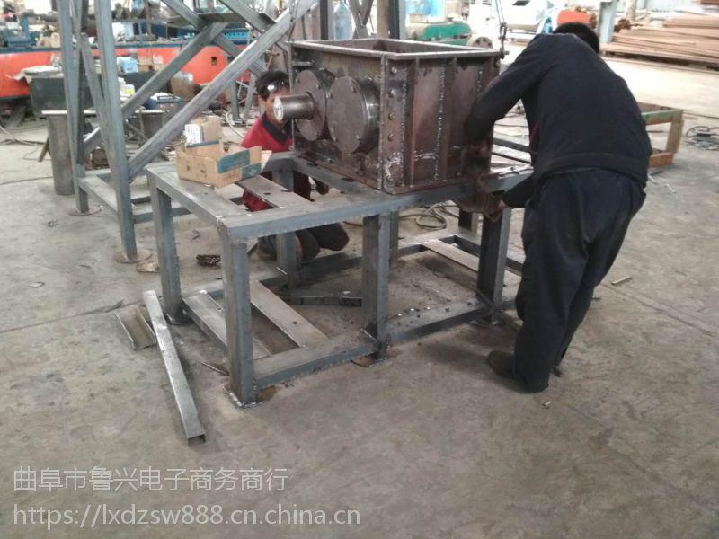 内蒙古辊切式粉碎机 轮胎撕碎机撕裂机价格