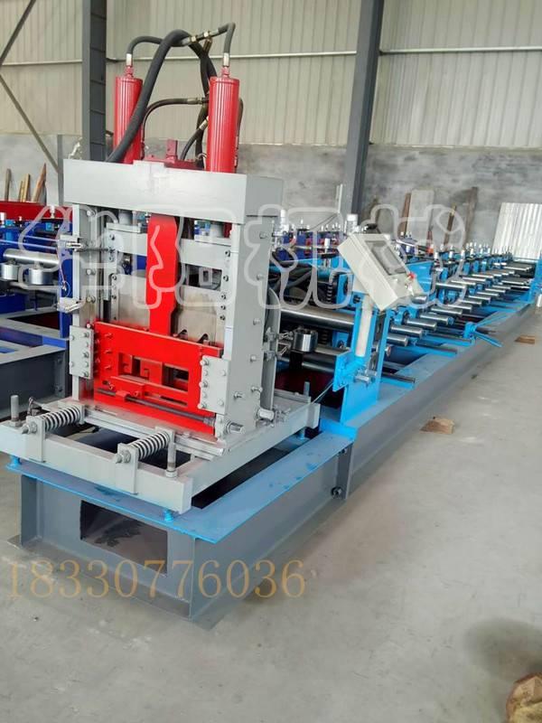 全自动C型钢机 快速换型C型钢檩条机设备