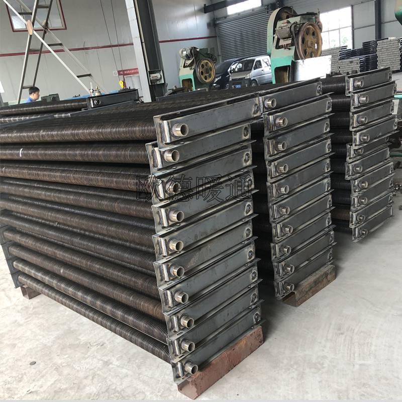 河北大量供应高频焊翅片管散热器基地