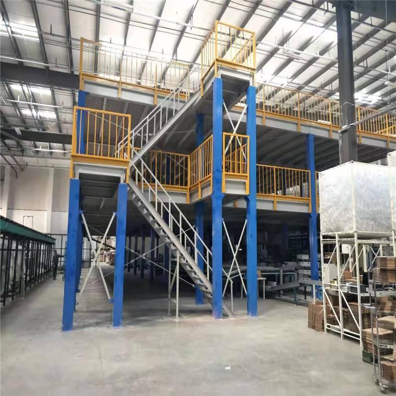 阁楼货架 重型钢结构平台 多层可拆装式阁楼货架