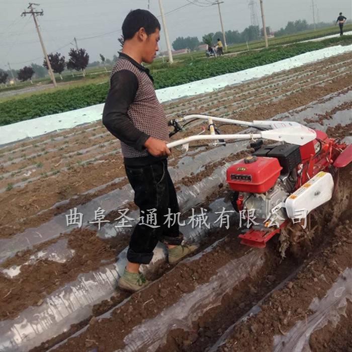 开沟培土机 种菜种药材开沟机 大棚小型起垄机