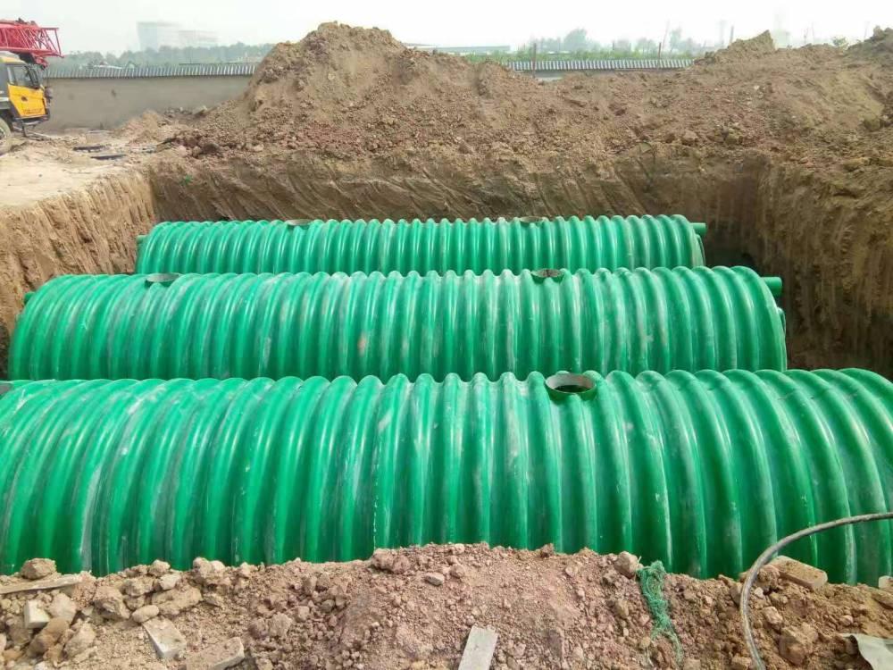 沧州玻璃钢一体化化粪池价格 新闻12立方玻璃钢化粪池