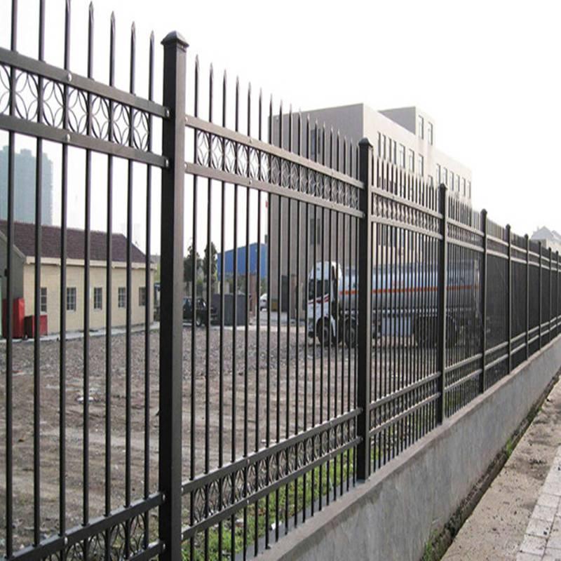 围墙铁栏杆多少钱一米 量大优惠 久卓批发 围墙生铁栏杆