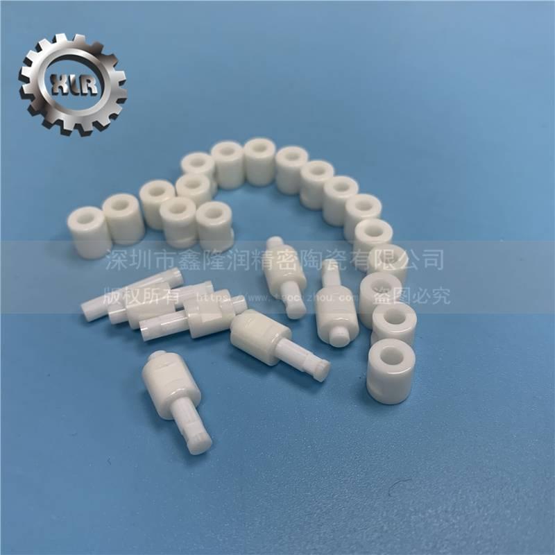 供应氧化锆陶瓷,陶瓷轴套,内孔珩磨加工 尺寸精度高