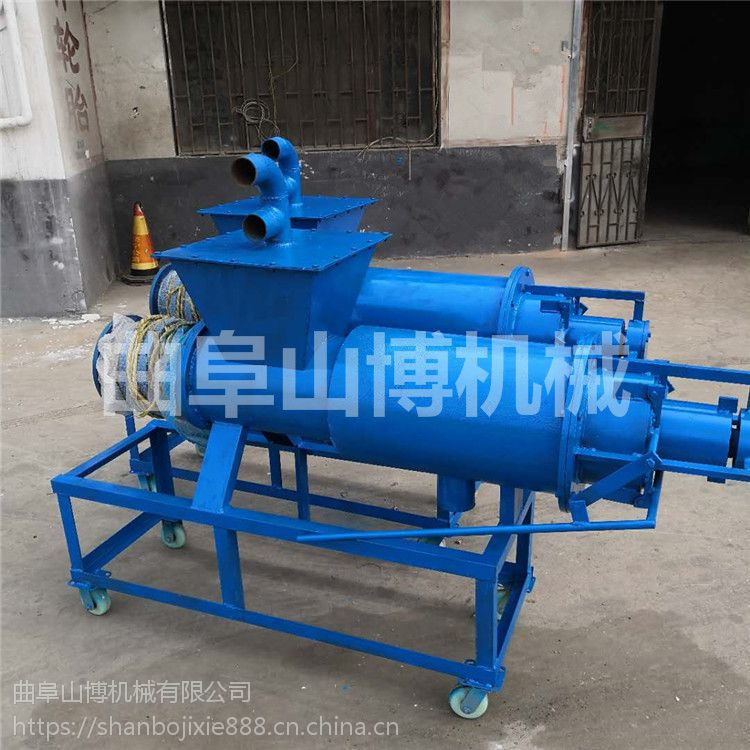 大型固液分离机 牲畜粪便干湿分离机 污泥脱水机
