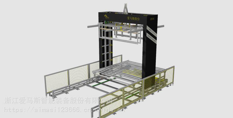AMS自动叠床机 床垫叠床机 床垫存储码垛机 自动化设备 堆垛机