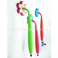 【和顺美】生产供应PVC软胶磁性笔 卡通创意冰箱贴笔