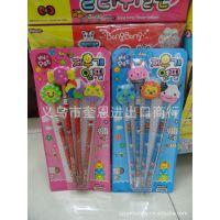 韩版组合文具套装 自动铅笔 HB铅笔 儿童学习文具礼品批发