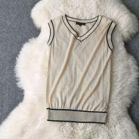 【欧洲站】2014秋装女装新 针织V领长袖外套+针织连衣裙两件套装