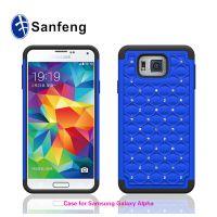 厂家直销 三星SM-G850F二合一满天星手机壳 硅胶+pc组合式手机套