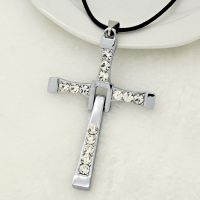 速度与激情十字架 明星同款饰品男士项链 霸气长6.7cm 宽4.4cm