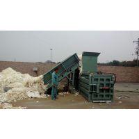 一天收个六七吨货,选什么样的废纸打包机合适,华龙卧式80小型废纸打包机适合您