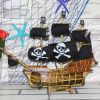 欧式家居帆船模型  创意纯手工家居摆件 促销礼品厂家批发