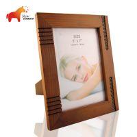 厂家直销 实木相框 7寸相框 创意画框相框组合 木制相框