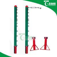 唐山百灵鸟地插式排球柱生产厂家
