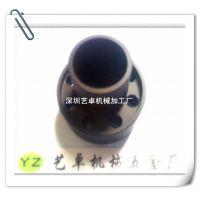 提供喷细沙着亚黑色硬质氧化6063铝件加工