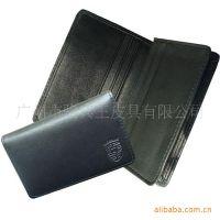 广州皮具厂家 加工订做皮具礼品 供应休闲名片包  真皮名片夹