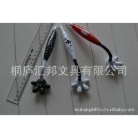 【卡通笔生产】手指笔 太阳花造型笔 韩版文具 环保材质