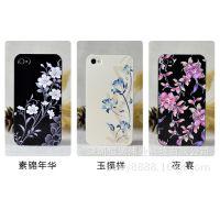 国内厂家订做 iphone6手机外壳印花 彩绘浮雕数码彩印加工