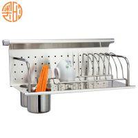 诚招代理加盟 供应厨房置物架砧板架 W506壁挂式不锈钢实用砧板架
