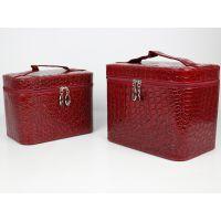 品硕供应 皮质化妆盒 化妆品整理盒 手镯玉佩盒