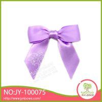 紫色小花 手工蝴蝶结 架子结 厂家直销